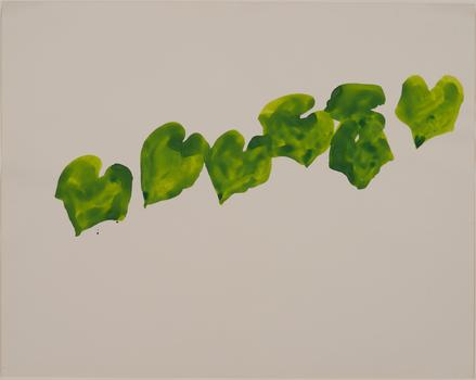 Though known for hard-edge abstraction, Ellsworth Kelly has spent more than six decades creating uncluttered drawings of fruits and plants. Above, a watercolor of wild grapes, from 1961.