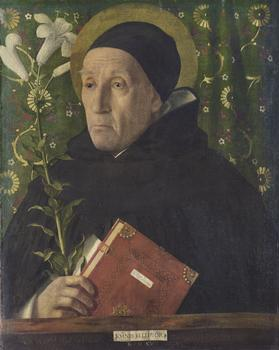 Giovanni Bellini (Venice, active by 1459-1516, Venice).  Fra Teodoro of Urbino as Saint Dominic