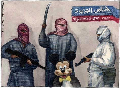 """""""Behead Mickey"""" February 2006"""