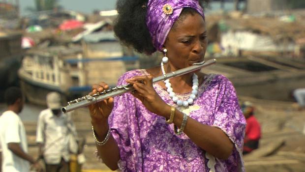Flautist Nathalie Bahati.
