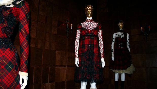 McQueen pays homage to his roots: Scotland.