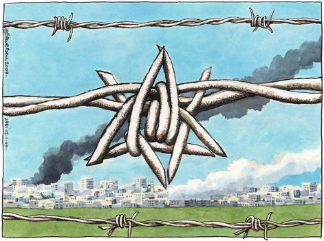 """Gaza Barbed Wire"" January 2009"