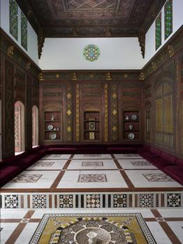 Reception Room (Qa'a), dated A.H. 1119/A.D. 1707. Syria, Damascus
