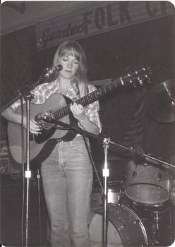 Many singer-songwriters of the 1960s and 1970s found their voices at Gerde's. Peggy Atwood, pictured here, was Folk City's resident country and western star.