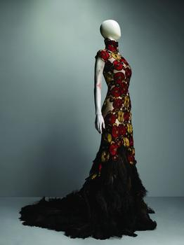 AlexanderMcQueen (British,1969-2010) Dress, VOSS, spring/summer 2001