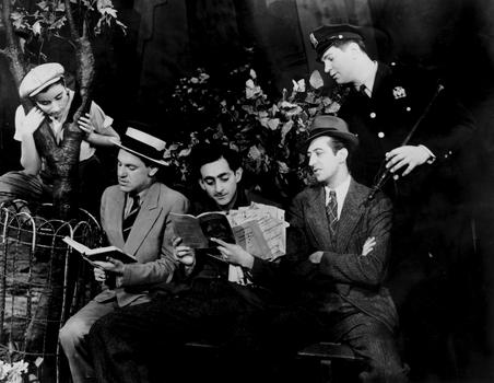 """A scene from the ILGWU's """"Pins & Needles"""" musical revue."""