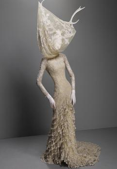 "This piece was in McQueen's autumn/winter ""Widows of Culloden"" show in 2006-07."