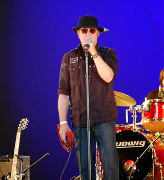 The prolific Mitch Ryder performed on August 1 at Lincoln Center's 'Out Of Doors' Concerts Series.