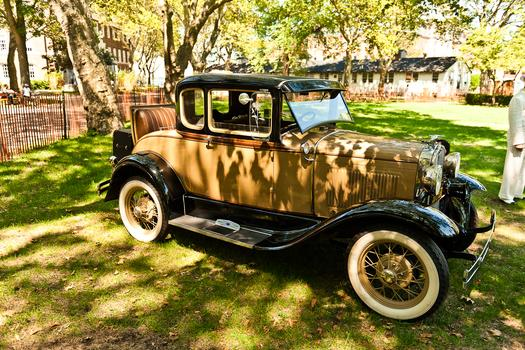 Classic cars from the 1920s are also on display.