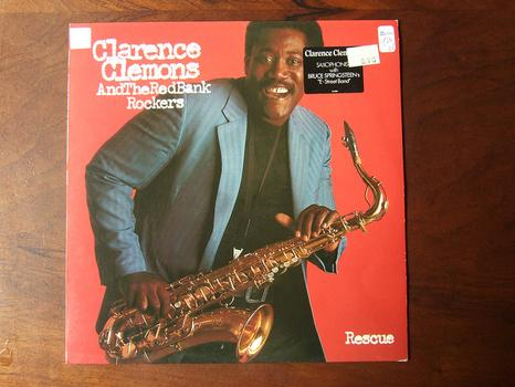 <em>Rescue</em> by Clarence Clemons and The Red Bank Rockers was released in 1983.