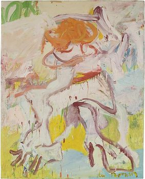 Abstract Expressionist Willem de Kooning gets a show of works from the '60s and '70s at Pace Gallery on 57th Street. Shown here: 'Woman,' from 1969