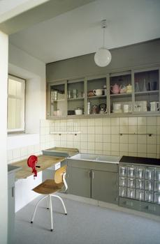 Margarete Schütte-Lihotzky (Austrian, 1897-2000). Frankfurt Kitchen from the Ginnheim-Höhenblick Housing Estate, Frankfurt am Main, Germany (reconstruction). 1926–27.
