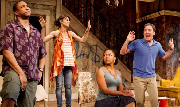 A scene from the Broadway production of 'Clybourne Park.'