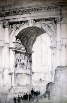 Edward Durell Stone. Arch of Titus – Rome.