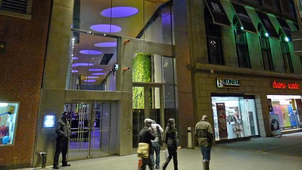 David Rubenstein Atrium, Lincoln Center's new visitors' and ticketing facility