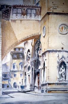 Edward Durell Stone. Orsanmichele - Florence.