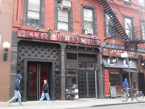 In 2000, a new nightclub, The Village Underground, opened in the basement of Folk City's former home.