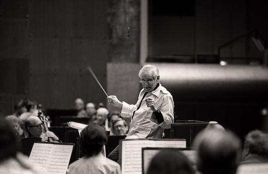 New York Philharmonic in Avery Fisher Hall; November 26, 1985.