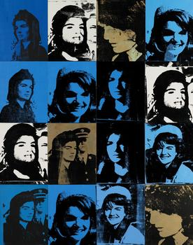 "Last fall, Warhols did well at auction. On May 10, Andy Warhol's ""Sixteen Jackies"" from 1964 goes up on the chopping block. Sotheby's is expecting to get between $20 and $30 million for it."