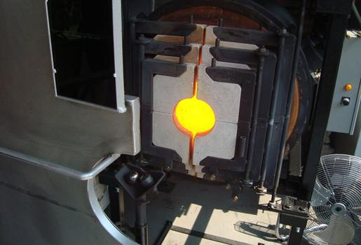 The annealing oven.