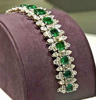 The bracelet is valued at between $300,000 and $500,000.