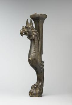 Throne Leg in the Shape of a Griffin, late 7th–early 8th century. Probably western Iran