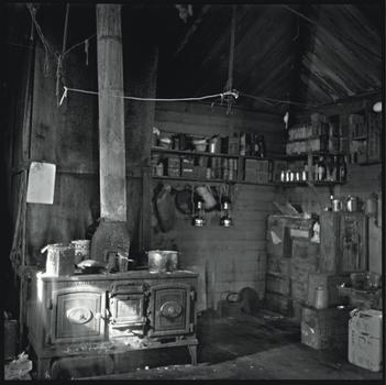 The kitchen of Shackleton's Cape Royds hut