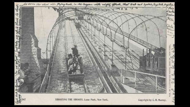 Old school ride at Coney Island