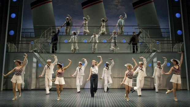 "The revival of ""Anything Goes"" brings the high-octane Broadway tradition of ensemble tap dance to the stage."