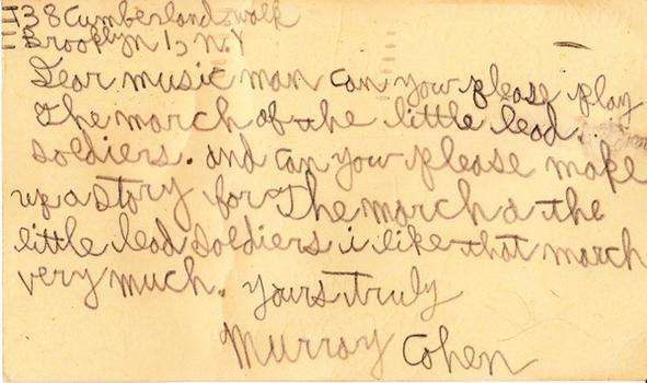 Murray Cohen - May 8, 1948 (postmark)