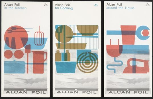 Rolf Harder (German, born 1929). Alcan Foil Brochures