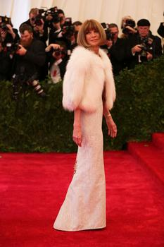 Anna Wintour, editor-in-chief of Vogue. This marked the 15th year she co-chaired the Costume Institute Benefit.