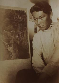 Artist Ural Tansykbaev