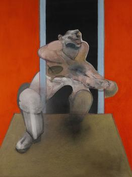 Francis Bacon's <em>Figure in Movement</em> sold for $14 million at Sotheby's. It was expected to sell for between $7 and $10 million.