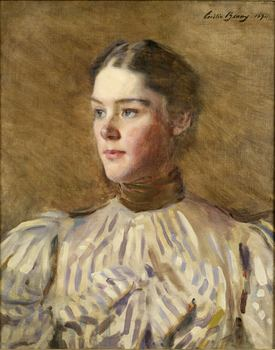 "This oil ""Self-Portrait"" in the academy's collection was made by Cecilia Beaux in 1894."
