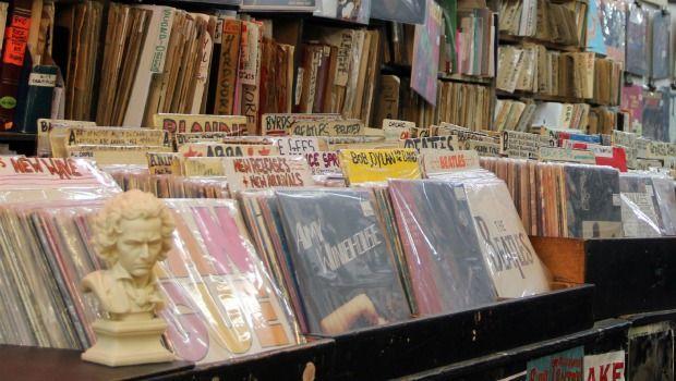 Photo No. 13 (Nov. 17) Answer: Bleecker Street Records.
