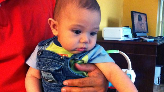 Braulio Rosado's younger son, Ethan