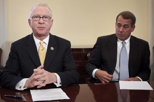 <strong>Armed Services:</strong> Buck McKeon (R-CA) (left)