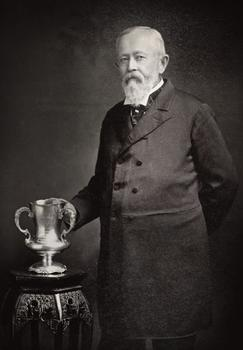 Dr. Bontecou presented with a silver cup of his contributions to medicine, November 18, 1903.