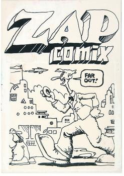 At the Society of Illustrators: Underground comix master Robert Crumb gets a retrospective of rare and vintage works. Above, an unpublished ZAP cover from 1968. Far out!