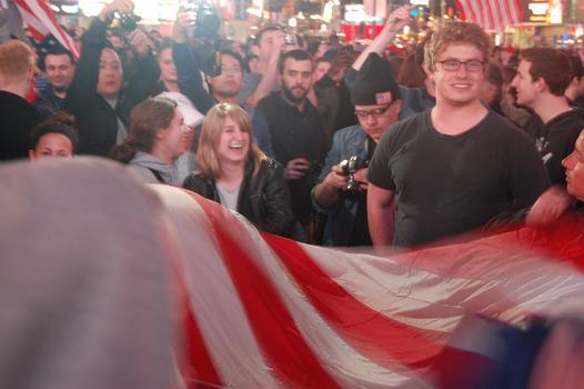 More celebrators.