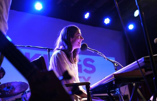 Caroline Polachek of the band Chairlift.