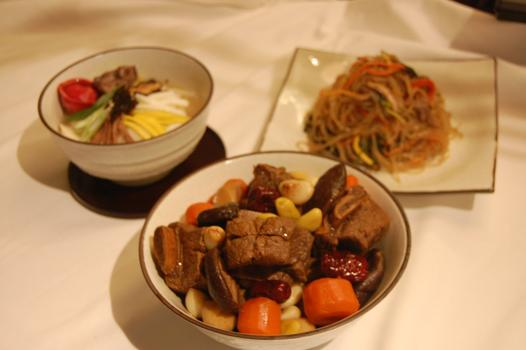Food for the Korean New Year