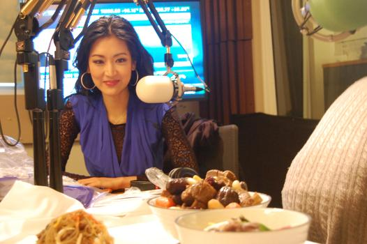 Kelly Choi talks food on The Takeaway