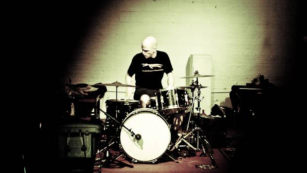 Chris Corsano performed at Issue Project Room in Gowanus on May 20.