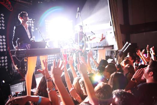 Check out the legs on Chromeo at the Bowery Ballroom on July 29.