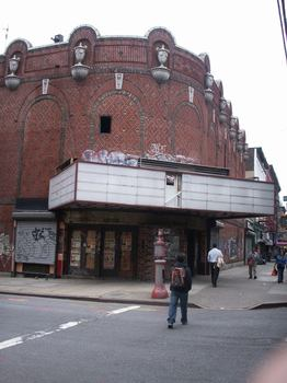 Built in 1922, the once-grand Commodore Theater stood for 80 years before it was demolished in 2002.