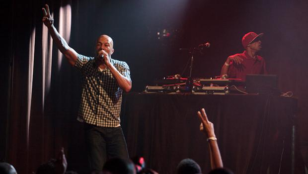 Common performed at the Hghline Ballroom in Chelsea on May 8.