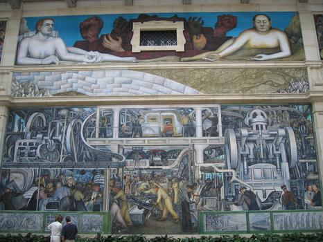 Celeste headlee introduces you to detroit the takeaway for Diego rivera dia mural