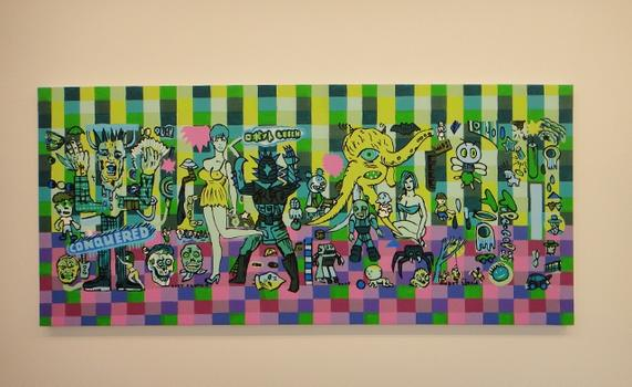 At Fredericks & Freiser, Gary Panter blends his signature savage lines with a pop sensibility.